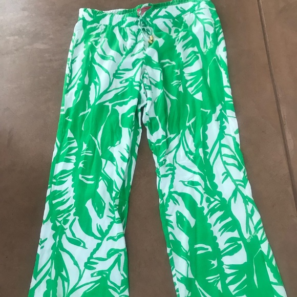 c6d52214e6 Lilly Pulitzer for Target Pants - Lilly Pulitzer for Target green palazzo  pants